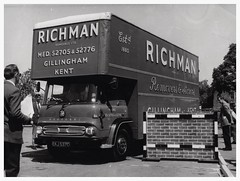 Uncle Bern's first TK (SemmyTrailer) Tags: ekj537c bedford tk luton pantechnicon removals richman gillingham kent ldoy lorry truck