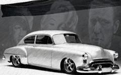 50 Olds (bindare2) Tags: car photoshop automobile american vehicle chopped custom photoart cruiser 1950 v8 oldsmobile topaz slammed americancars coolcars carart customhotrod carimages fotosketcher carartwork carartphotos carartpictures carcustoms