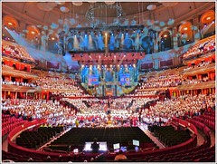 The Royal Albert Hall London. (jeansmachines24) Tags: royalalberthall london auditorium june2016 rehearsal 2000children school england gaynor organ cwmrhondda