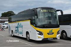 Ashley Travel Killamarsh AT16ASH. (EYBusman) Tags: road park new travel bus coach derbyshire ashley south sheffield yorkshire east independent brand futura bridlington daf bova vdl killamarsh hilderthorpe eybusman at16ash