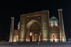 Sher-Dor Madrasah (Stefano Cislaghi) Tags: uzbekistan samarkand registan madrassah madrasah