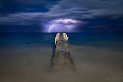 Without a minute to spare (Luke Austin) Tags: longexposure storm perth lightning westernaustralia dunsborough soulscape lukeaustin