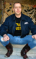 self715 (Tommy Berlin) Tags: men jeans alpha bomber levis cowboyboots 501
