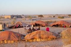 Our Turaeg Camp At the Essakane Music Festival (redneckroadtrip) Tags: travel music sahara festival mali timbuktu dogon tuareg sahel essakane djienne