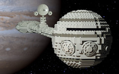 Discovery (True Dimensions) Tags: 2001 lego space odyssey discovery