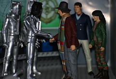 Doctor Who - Revenge of the Cybermen (Andy Sears 321) Tags: andy sarah tom baker elizabeth jane who dr sears smith andrew revenge doctor figure cyberman cybermen sladen