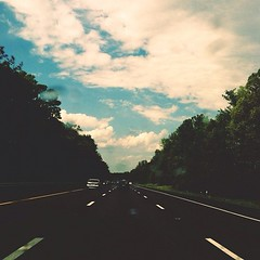 I'm ridin round and I'm... (trhee_) Tags: trees clouds square highway squareformat iphoneography instagramapp uploaded:by=instagram thattrheeblogspotcom