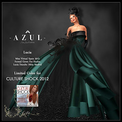 -AZUL- Lucia /CULTURE SHOCK limited color (mami_jewell) Tags: azul dress formal event donation chic gown limited cultureshock charuty vanityhair modavia virtualimpressions