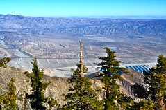 Beautiful clear day with view of windmills in Palm Springs from Mount San Jacinto State Park (Blue Rave) Tags: california park trees mountains nature hiking palmsprings windmills hike hills mountsanjacinto mountsanjacintostatepark
