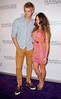 Luke Mitchell and Rebecca Breeds The launch of The Marquee nightclub at The Star - Arrivals Sydney, Australia
