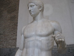 Doriforo di Policleto (Minerva's_Owl) Tags: napoli museo pompei lancia doriforo policleto