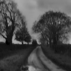 Bunbury Road (Pete Clark Landscape) Tags: road england abstract dark square landscape photography cheshire foreboding clark pete icm bunbury