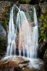 Side event (el.merritt) Tags: california longexposure usa water june rock waterfall overcast slowshutter yosemitenationalpark ynp cascaderiver emphoto41