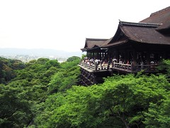 Kiyomizu Temple (miisheru) Tags: trees green nature beautiful japan landscape asian temple japanese scenery kyoto asia
