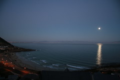 "Moon Rise over False Bay • <a style=""font-size:0.8em;"" href=""http://www.flickr.com/photos/34800309@N05/7413779158/"" target=""_blank"">View on Flickr</a>"