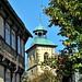 Fachwerk Hornburg mit Blick auf die ev. Marienkirche