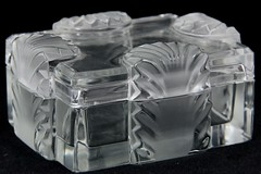1002. Lalique, France Lidded Box
