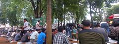 Jumatan di Cut Mutia (syamsuladzic) Tags: jakarta 2012 shalat jumatan cutmutia blackberry9380 indonesiaphone