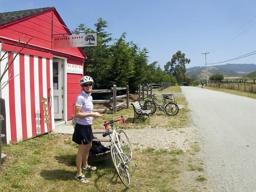 The Bike Hut, Tunitas Creek Road