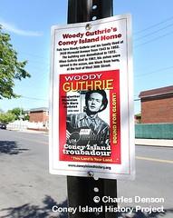 Woody Guthrie's Coney Island Home (Coney Island History Project) Tags: coneyisland centennial billybragg steveearle 100thbirthday woodyguthrie centenary mermaidavenue coneyislandhistoryproject noraguthrie coneyislandhalloffame