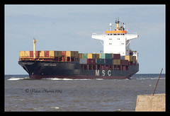 IMG_1758-MSC Jilhan (peter harris41) Tags: boats ships cargoships containership vessels rivertees redcarcleveland pdports registeredpanama mscjilhan imo8502717