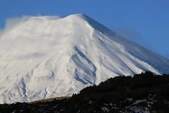 Volcanic landscape (Magryciak) Tags: winter newzealand snow canon eos volcano skiing whakapapa 2010 ngaruhoe
