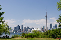 Toronto Skyline 2 (tony27502) Tags: toronto canada skyline island nikon cntower center 1755mmf28 d7000