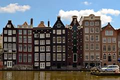 Amsterdam Old Brick Houses (generatorrr) Tags: city holland netherlands dutch amsterdam capital north olanda amstel paesi bassi amstelredamme