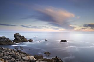 Coucher de soleil sur l'anse des Sabias ~ Île d'Yeu [ Vendée ~ France ]