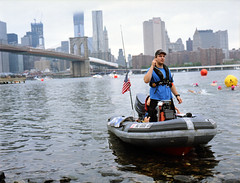 East River (DWKNY) Tags: nyc bridge art film brooklyn photography photo kodak manhattan eastriver portra dirk 160 kiprik