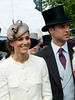 Catherine Middleton, Duchess of Cambridge and Prince William The Derby Stakes at Epsom Racecourse Surrey, England