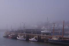 Mist rolling in. (b16dyr) Tags: mist misty boats scotland fife yachts har stmonans harr scotchmist fifecoastalwalk seaharr seahar stmonansharbour