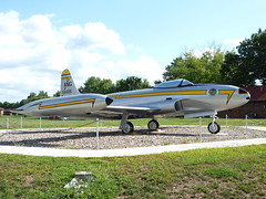 Lockheed F-80 Shooting Star (patchais) Tags: f80 shootingstar campdodge iowaairnationalguard iaang