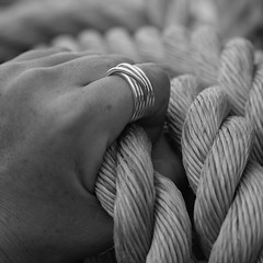could you hold on to your dream. please. (s.ofie.le bilder) Tags: hand rope dnemark ich kopenhagen roping roped trumevomfesthalten auchsoeinhandseilakt