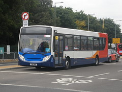 Stagecoach East Midlands, 27763 [FX61HGK] - London, Eton Manor (01/08/12) (David's NWTransport) Tags: stagecoach olympicgames adl londonolympics enviro300 adlenviro300 stagecoacheastmidlands adle300 2012londonolympicgames fx61hgk olympicgamesvehicle