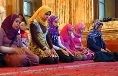 Call to Prayer (waitingfortrain) Tags: women citadel islam prayer religion mosque cairo islamic the islamicwomen islamicyoungwomen