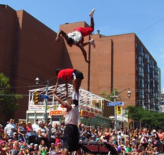 Chicago Ultimate Tumblers, Scotiabank Buskerfest, Toronto, ON (Snuffy) Tags: toronto ontario canada eliteclub scotiabankbuskerfest