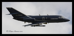 familes day 076-G-FRAU Falcon 20 (peter harris41) Tags: airport durham aircraft jet valley falcon cobham fra tees dassault peterharris da20 dtva