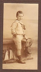 1890s Cabiner Card Sailor Suit Cute BOY   POND YACHT & TENNIS Racquet (oldsailro) Tags: park old boy sea summer people sun lake playing cute beach water pool girl sunshine youth sailboat race vintage children fun toy boat miniature wooden pond model waves sailing ship child time yacht antique group boom suit tennis card regatta mast sailor hull spectators watercraft racquet 1890s adolescence keel fashioned cabiner