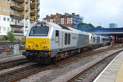 67 012 & 67 013 (hugh llewelyn) Tags: class 67 alltypesoftransport