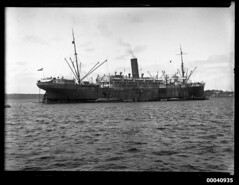 SS THEMISTOCLES in Sydney Harbour