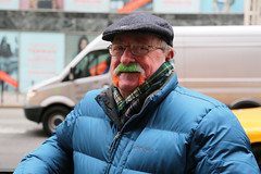 St. Patrick's Day 2014 - Fifth Avenue NYC (jamie nyc) Tags: gothamist irishflag leprechauns tamoshanter handlebarmustache stpatricksdayparade 5thavenuenyc eringobragh plaidscarf eddiebauerdownjacket sweetmoustache photobyjimkiernan stpatricksday2014 stpatsday2014 stpatsday2014newyorkcity stpatsday2014nyc irishflagmustache