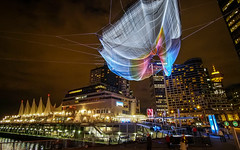 Skies Painted with Unnumbered Sparks by Janet Echelman (どこでもいっしょ) Tags: sculpture ted canada art vancouver britishcolumbia conference canadaplace 2014 vancouverconventioncentre janetechelman microfourthirds olympusomdem5 burrardlanding panasoniclumixgvario714mmf40 ted2014 ted2014conference skiespaintedwithunnumberedsparks