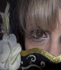 Mask (mnorris5257) Tags: white black eye girl nikon mask d90