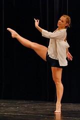 precision and control (R.A. Killmer) Tags: girl muscles dance legs stage dancer teen performer graceful talented danceworkshopbyshari