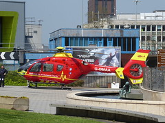 West Midlands Air Ambulance (metrogogo) Tags: flight helicopter airborn airambulance