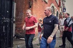 Green Street (Herschell Hershey) Tags: street london fashion tattoo football mod skins style east fans skinhead tats westham uptonpark boleyn whufc