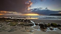 All shapes (Through Bri`s Lens) Tags: sea sky cloud sunrise bay sand rocks skies yorkshire northyorkmoors robinhoodsbay clods brianspicer lee09softgrad canon5dmk3 canon1635f4
