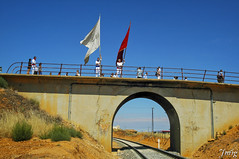 Ferreruela de Huerva038 (jmig1) Tags: nikon d70 bandera tunel teruel baile vias ferrerueladehuerva