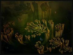 the jade forest (bloorose-thanks 4 all the faves!!) Tags: art digital 3d render fractal textured photofiltrestudio mandelbulb